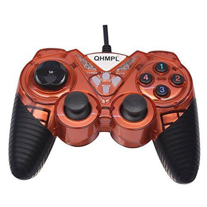 Picture of Quantum QHM7487 2 Way Vibration USB Gamepad Controller with Turbo Function