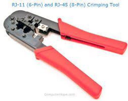 Picture of Network Modular Crimping Tool