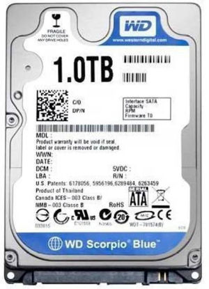 Picture of WD Blue 1 TB Laptop Internal Hard Disk Drive