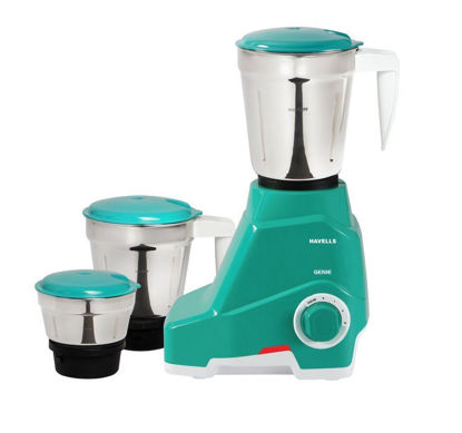 Picture of Havells Genie 500Watt Juicer Mixer Grinder (Green)