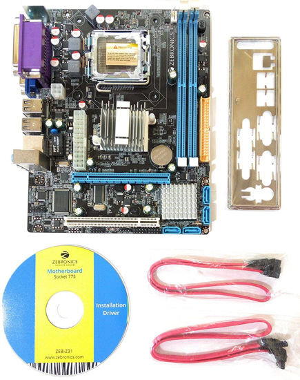 Picture of MOTHER BOARD MBZ27 ZEB Z31 SOCKET 775 G31