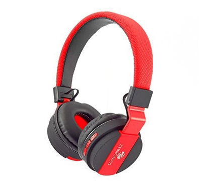 Picture of Zebronics Airone Bluetooth Headphones (red)