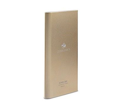 Picture of Zebronics PG-8000 8000mAH Lithium Ion Power Bank (Gold)