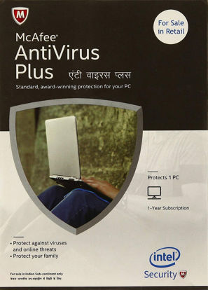 Picture of McAfee Anti-Virus Plus - 1 PC, 1 Year (CD)