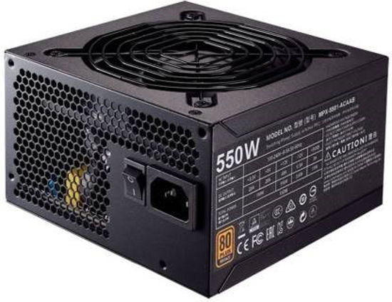 Picture of Cooler Master MWE 550W ( MPW-5502-ACABW-IN) 12 Watts PS...