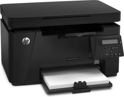 Picture of HP LaserJet Pro MFP M126nw Multi-function Wireless Printer  (Black, Toner Cartridge)