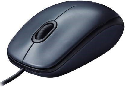 Picture of Logitech M90 Wired Optical Mouse  (USB, Black)
