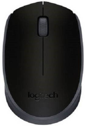 Picture of Logitech M170 Wireless Optical Mouse  (2.4GHz Wireless, Black)
