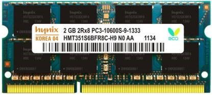 Picture of Hynix Genuine DDR3 2 GB (Single Channel) Laptop memory