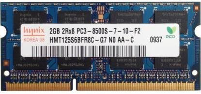 Picture of Hynix DDR3 1066Mhz ,1.5V DDR3 2 GB (Dual Channel) Mac, Laptop (HMT125S6BFR8C-G7 PC3 8500S)