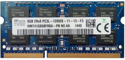 Picture of Sk Hynix 8gb 2rx8 Pc3l-12800s 1600mhz Laptop Ram Memory Hmt41gs6bfr8a-pb