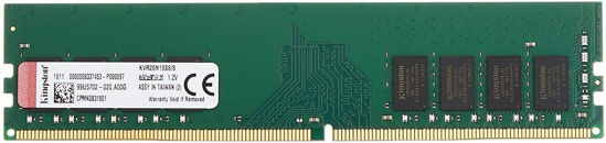 Picture of Kingston Memory KVR26N19S8/8 ValueRAM DDR4 8 GB DIMM 288-pin Computer Internal Memory