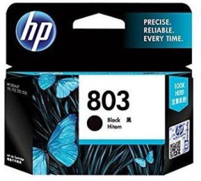 Picture of HP 803 Single Color Ink Cartridge  (Black)