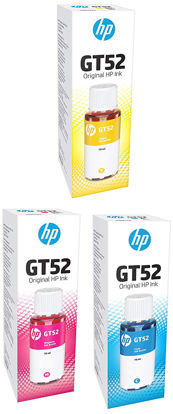 Picture of HP Ink GT52 Bottle Color Combo Set of 3 (GT52 C/M/Y)