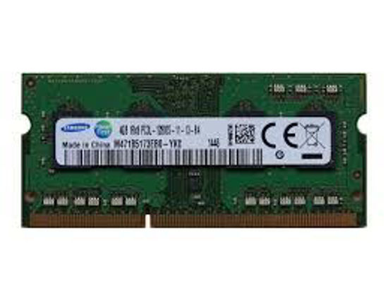 Picture of Samsung ram memory 4GB DDR3 PC3-12800,1600MHz For Laptop