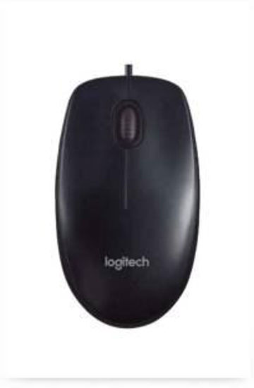 Picture of Logitech B100 Optical Wired USB Mouse