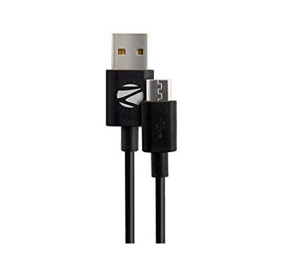 Picture of Zebronics UMC100 Micro USB data cable charger for all android mobile phones Samsung, Nokia, LG, Lenovo, Xiaomi, HTC, Sony, Micromax, Motorola