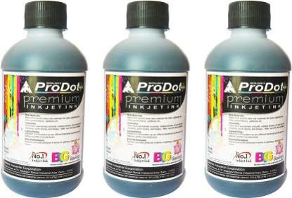Picture of ProDot All Inkjet Printers 200 ml Set Of 3 Single Color Ink Cartridge  (Black)