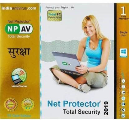 Picture of NP AV NET PROTECTER Total Security 1 User 1 Year  (CD/DVD)