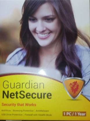 Picture of Guardian NetSecure Antivirus 1Pc For 1 Year
