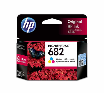 Picture of HP 682 Tri-Color Original Ink Cartridge